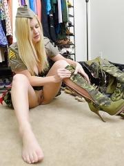 Danielle celebrates Veterans Day